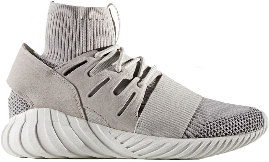 adidas Tubular Doom  Primeknit Clear Granite