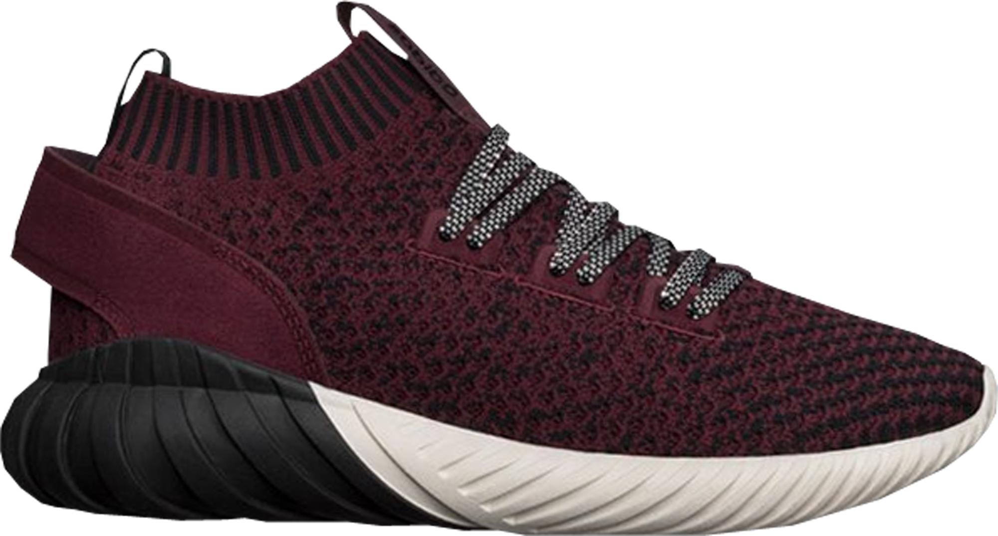 Adidas tubular Doom Sock Maroon negro cq0944 BLK