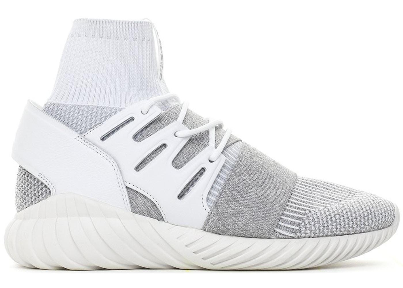 uk availability 244e9 89774 adidas Tubular Doom White Grey