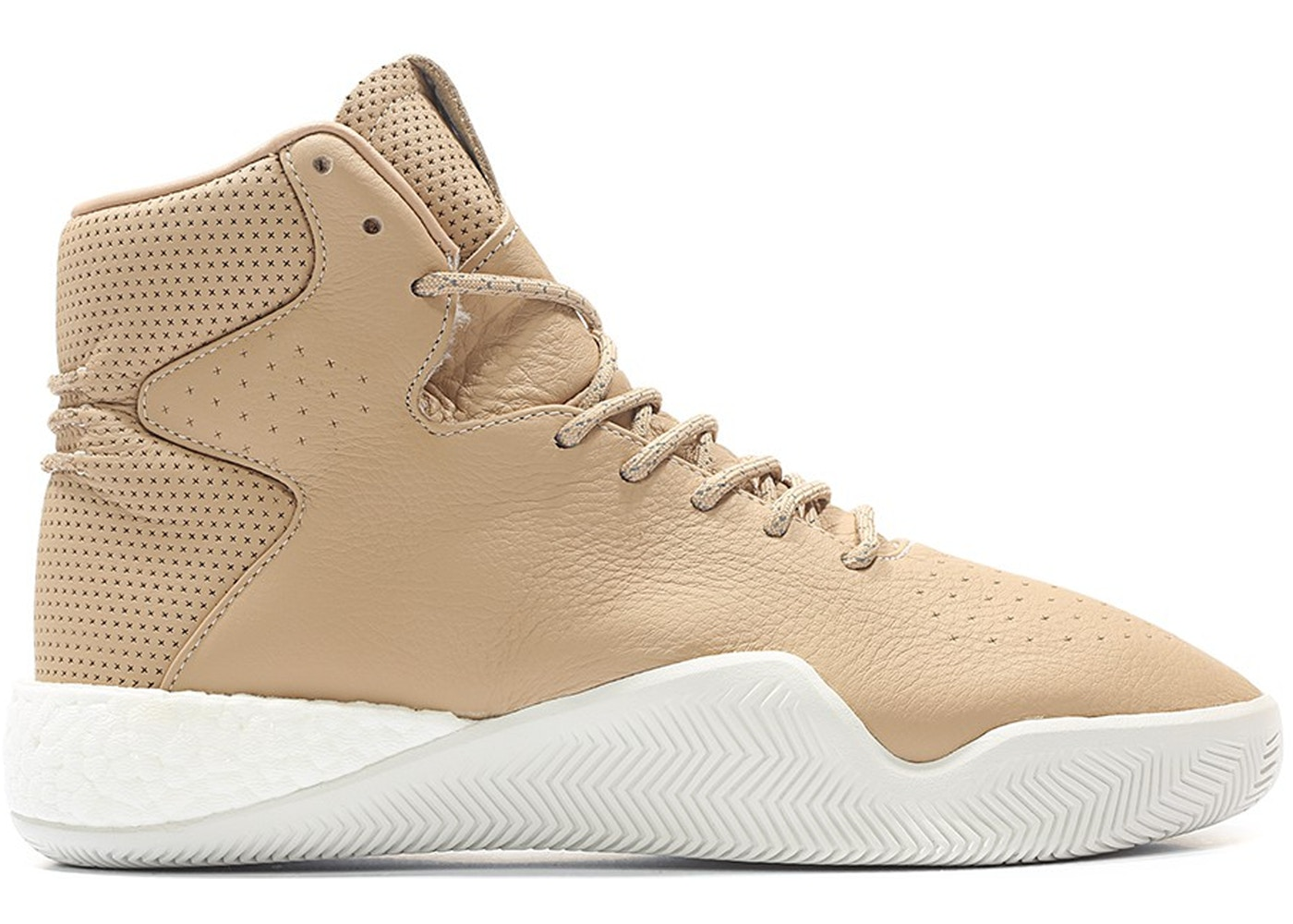 new product af321 bce4d adidas Tubular Instinct Boost Tan Leather