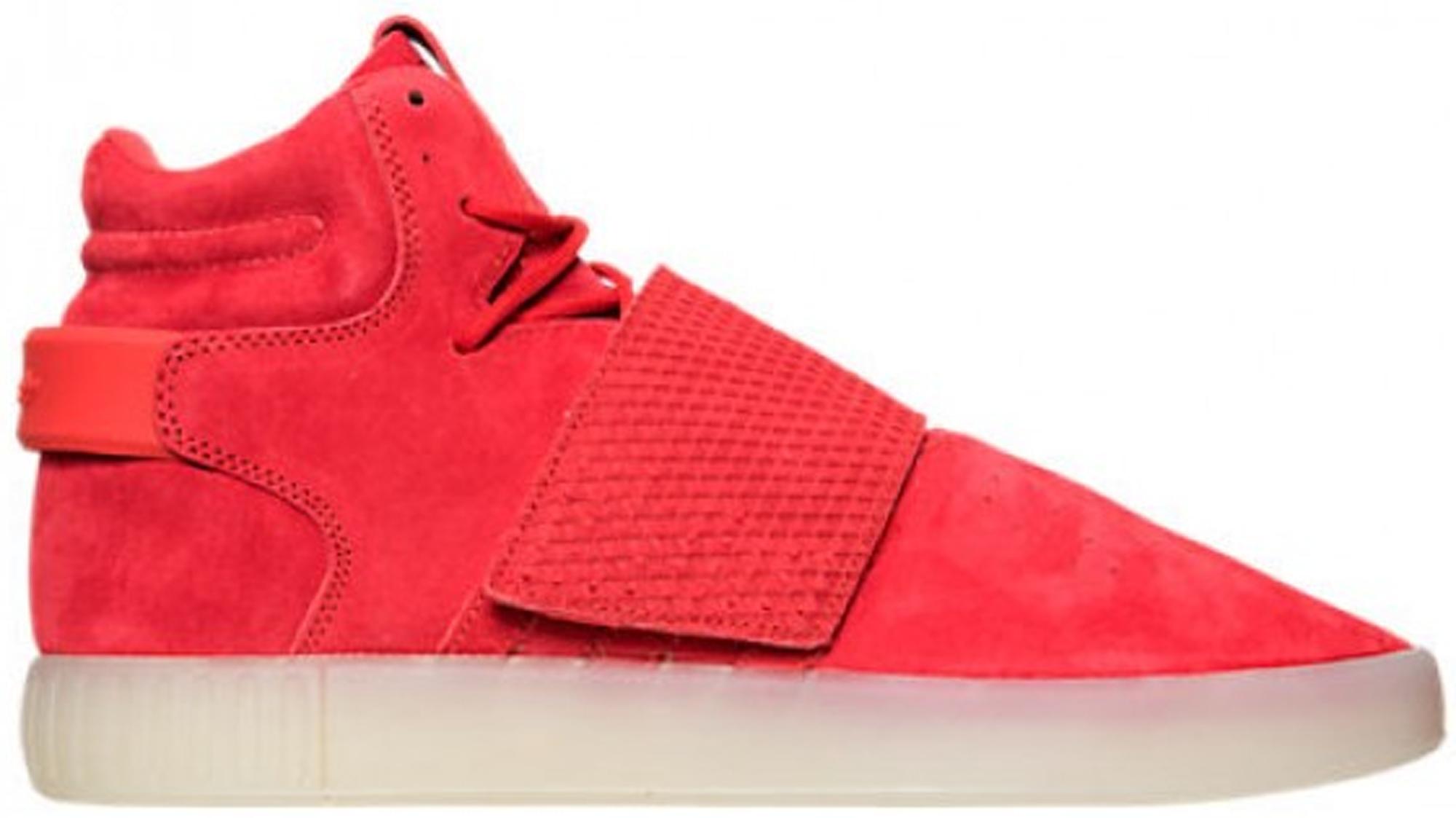 adidas Tubular Invader Strap Red - BB5039
