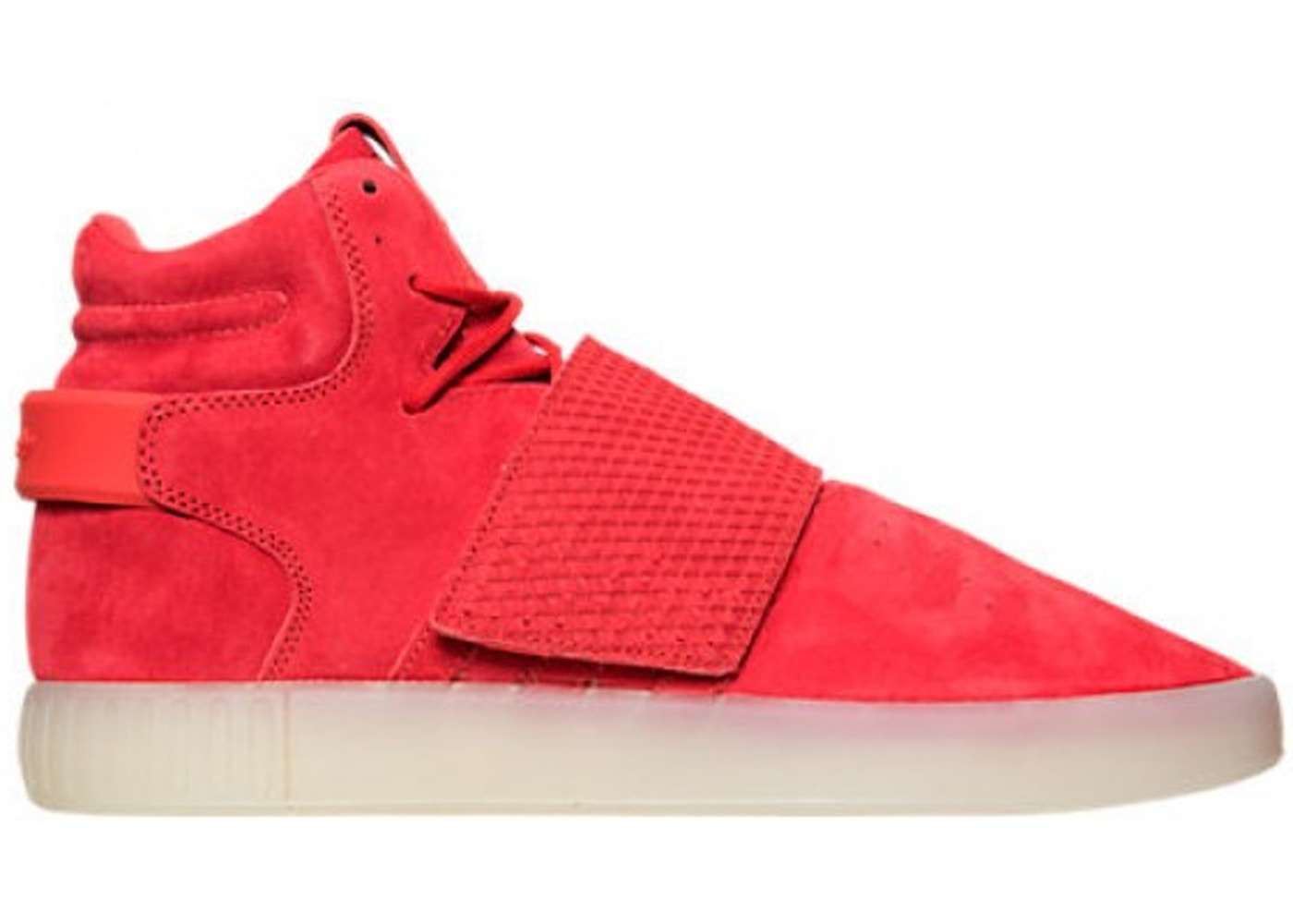 low priced 68118 9d3e5 adidas Tubular Invader Strap Red