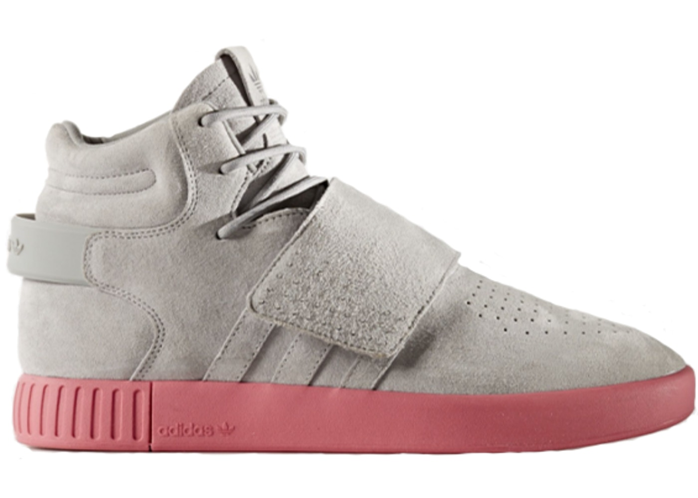 competitive price 5b7d4 5e791 adidas Tubular Invader Strap Solid Grey