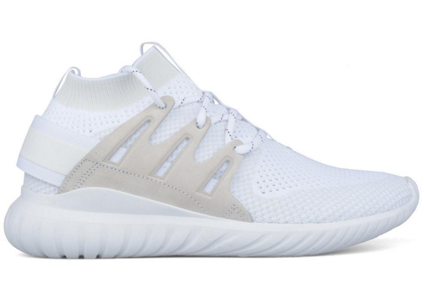 cheap for discount 0e6ea 5dda0 adidas Tubular Nova Primeknit Triple White