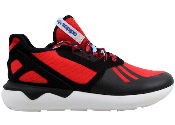 newest 79b7e b57c5 adidas Tubular Runner Red/Black/White