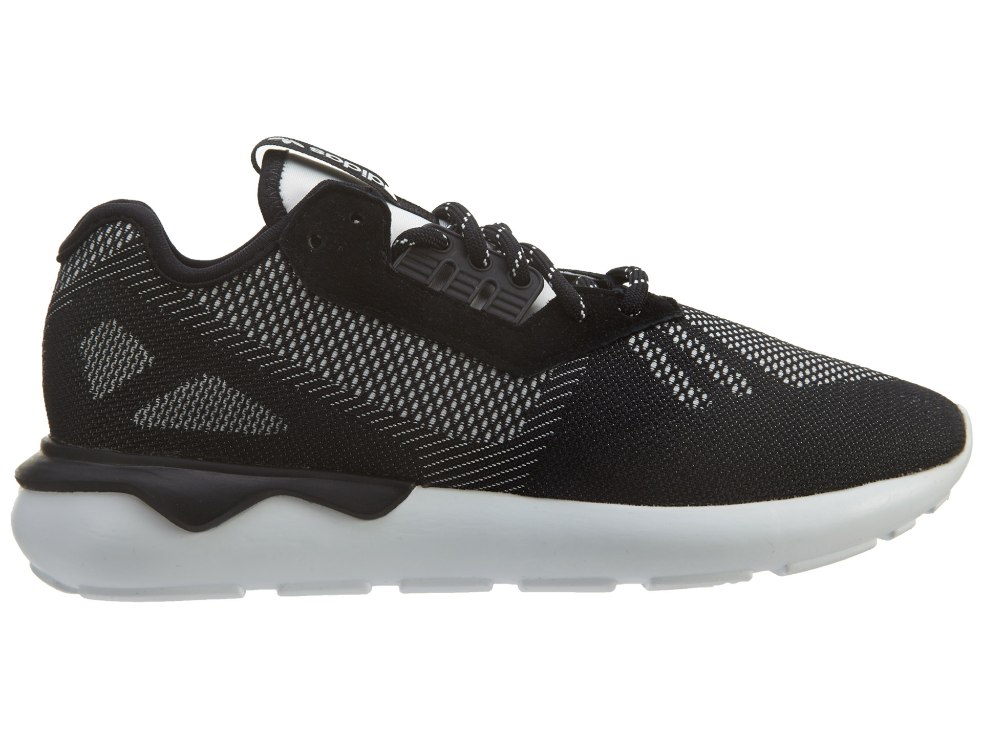 adidas Tubular Runner Weave Black/Black/White