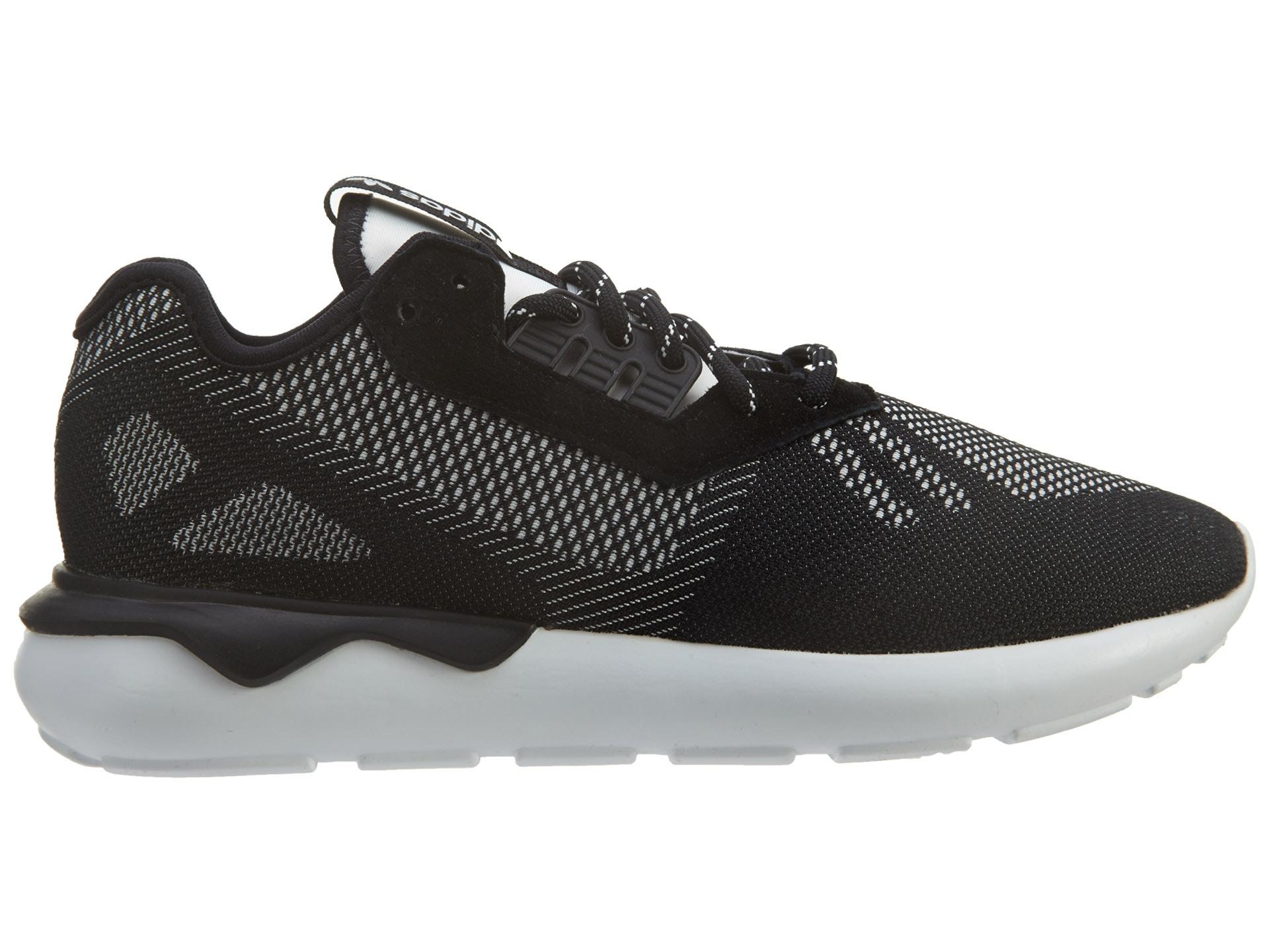 adidas Tubular Runner Weave Black/Black/White
