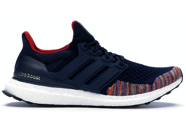 new product f8664 fe4eb adidas Ultra Boost 1.0 Multi-Color Toe Navy
