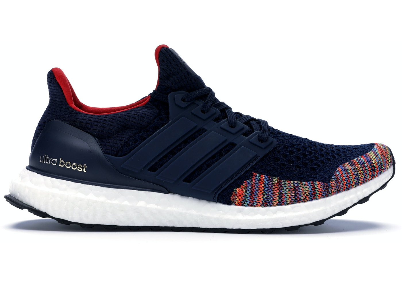 7905c391 adidas Ultra Boost 1.0 Multi-Color Toe Navy