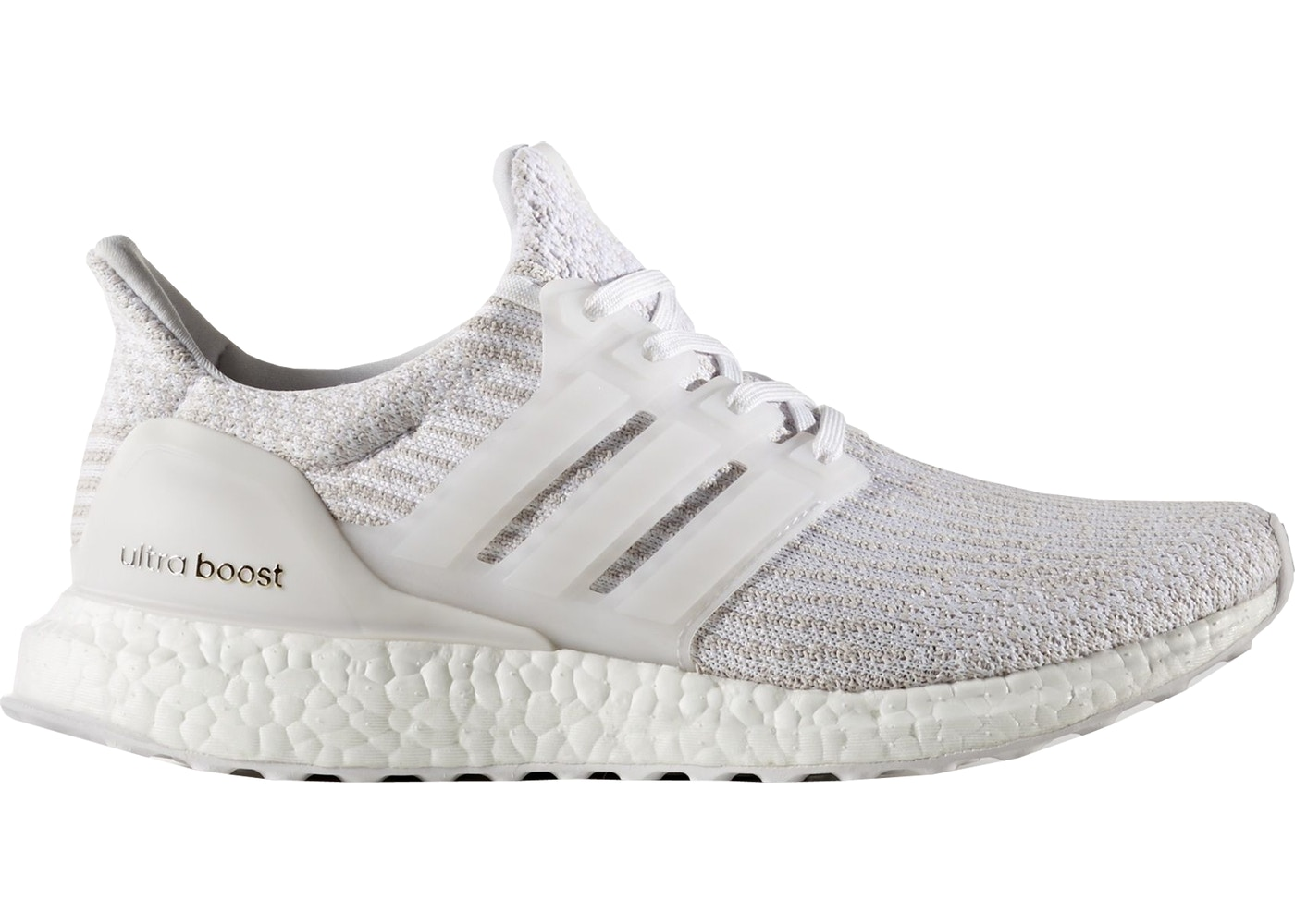 separation shoes 66a97 f5a97 adidas Ultra Boost 3.0 White Pearl Grey (W)