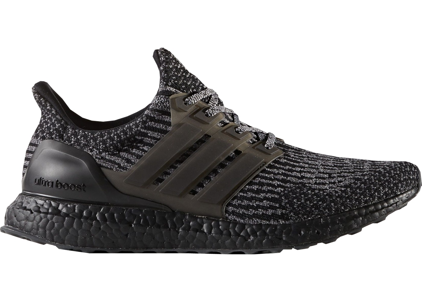 adidas Ultra Boost 3.0 Black Silver - BA8923 b4806bb549b7