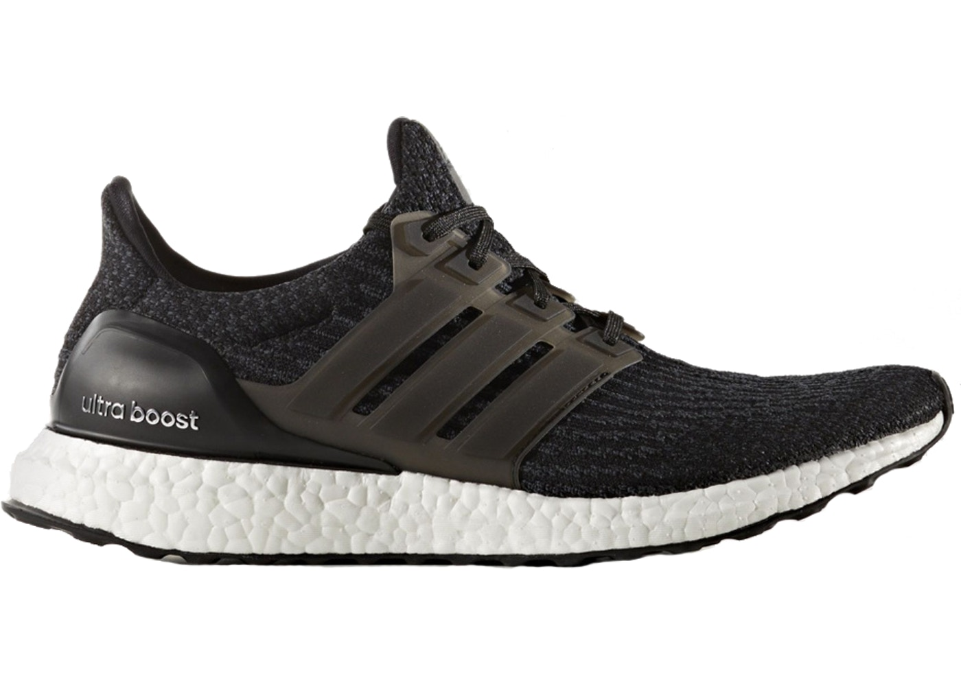 adidas Ultra Boost 3.0 Core Black White (With images