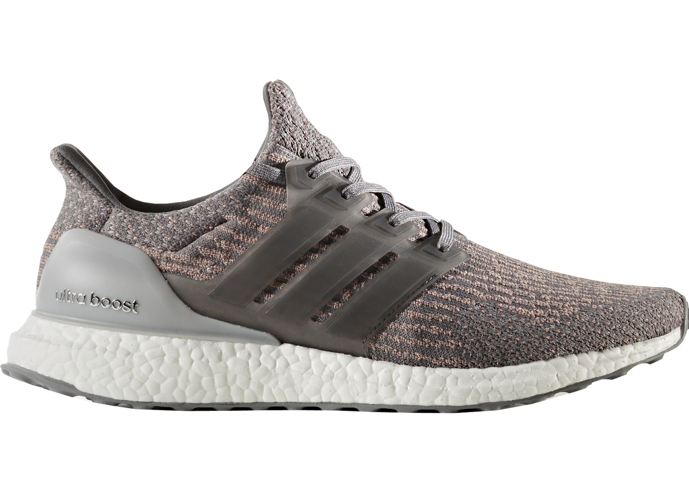570094e8a adidas Ultra Boost 3.0 Grey Four Trace Pink - S82022
