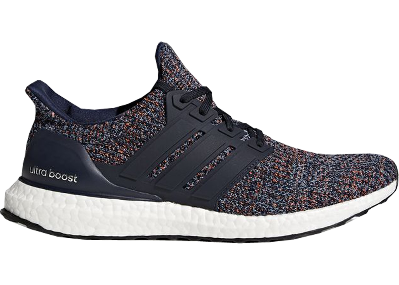 reputable site 93a82 66e11 adidas Ultra Boost 4.0 Navy Multi-Color