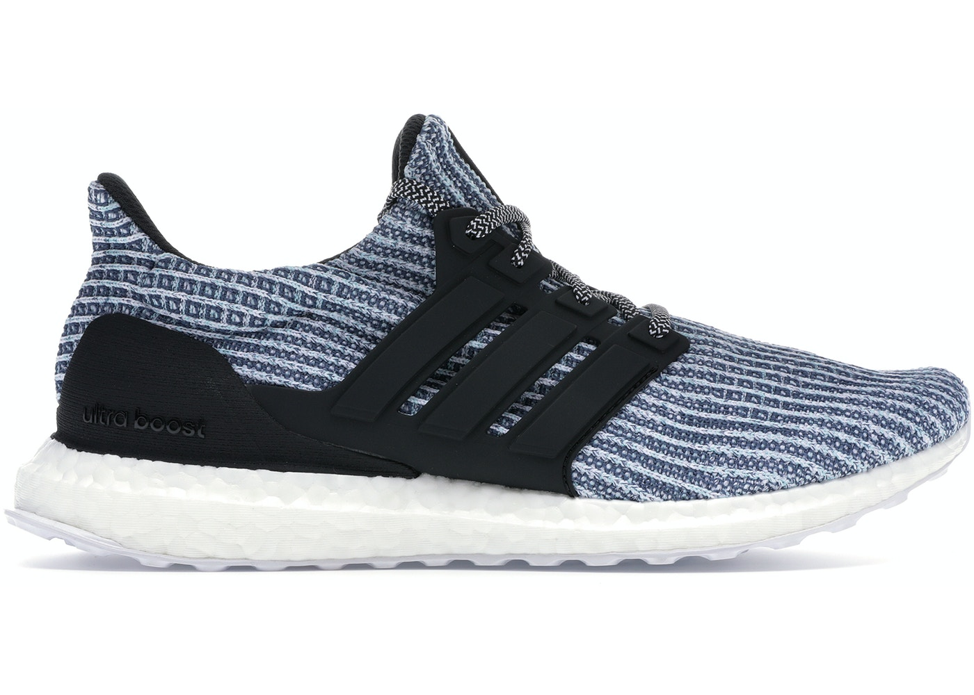new products 6fc0d 049ed adidas Ultra Boost 4.0 Parley Carbon Blue Spirit
