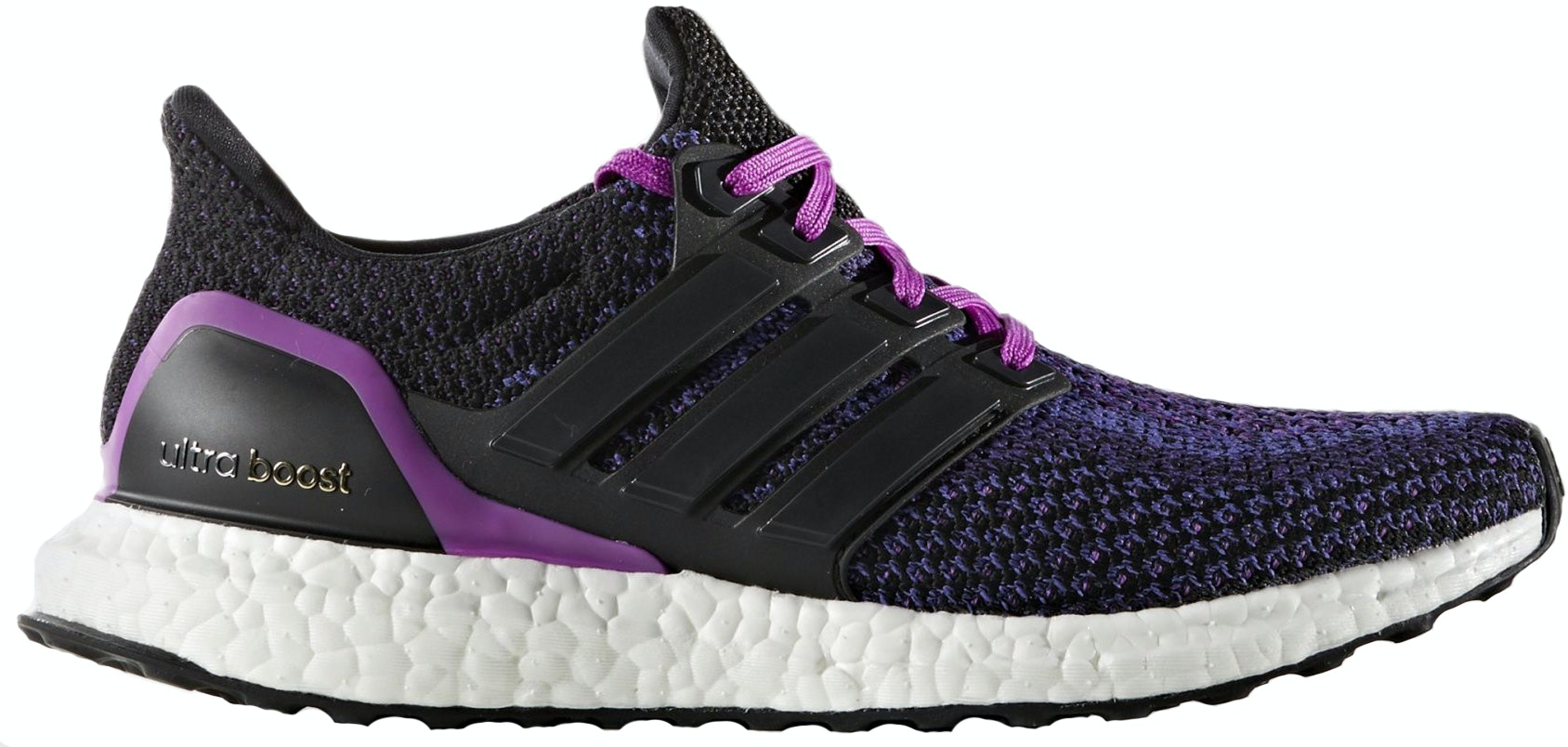 adidas Ultra Boost Black Purple (W)