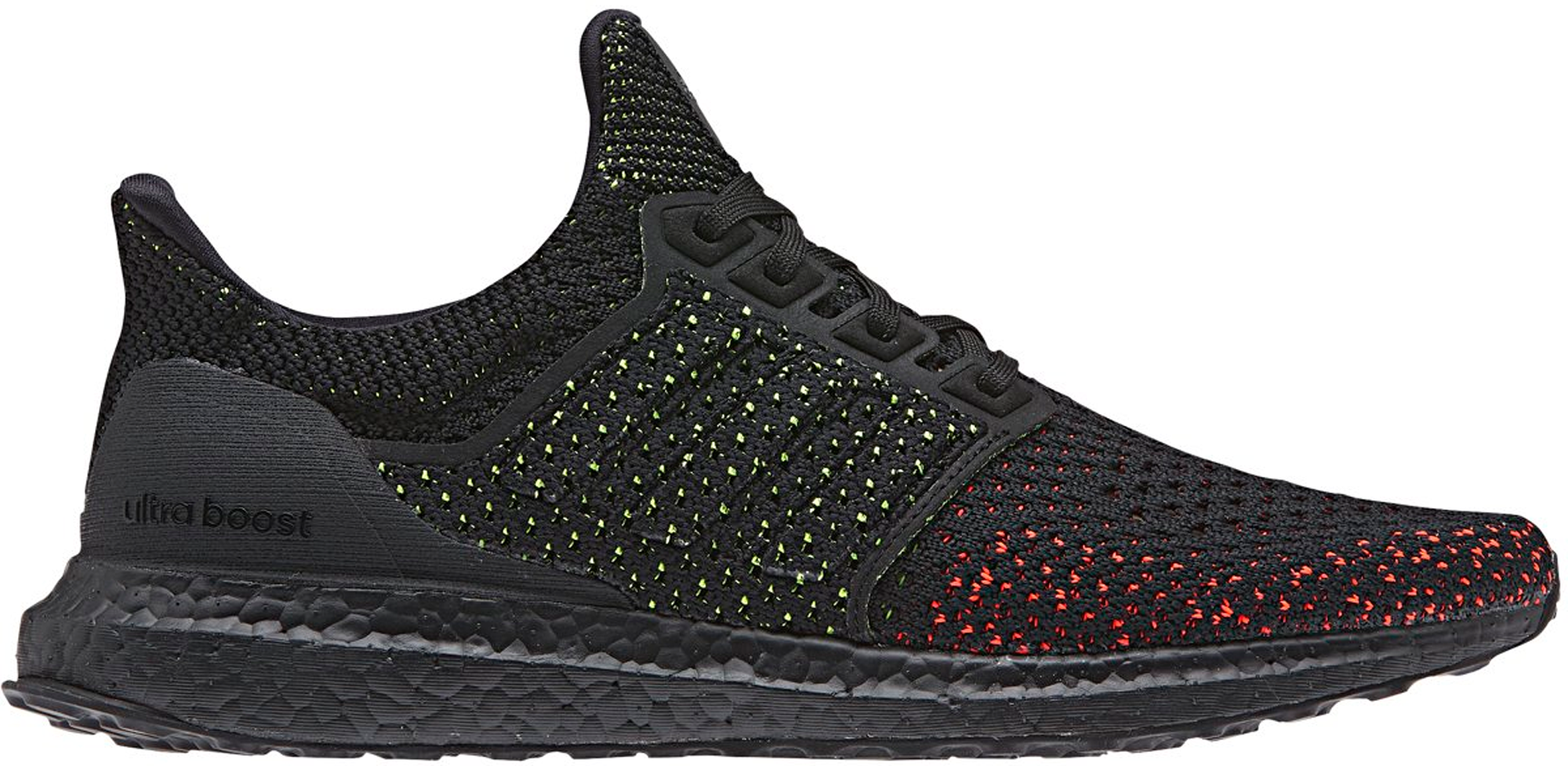adidas Ultra Boost Clima Core Black Solar Red