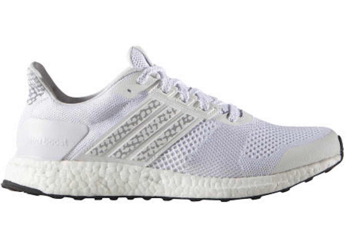 268abe06f adidas Ultra Boost ST Glow White - AF6396