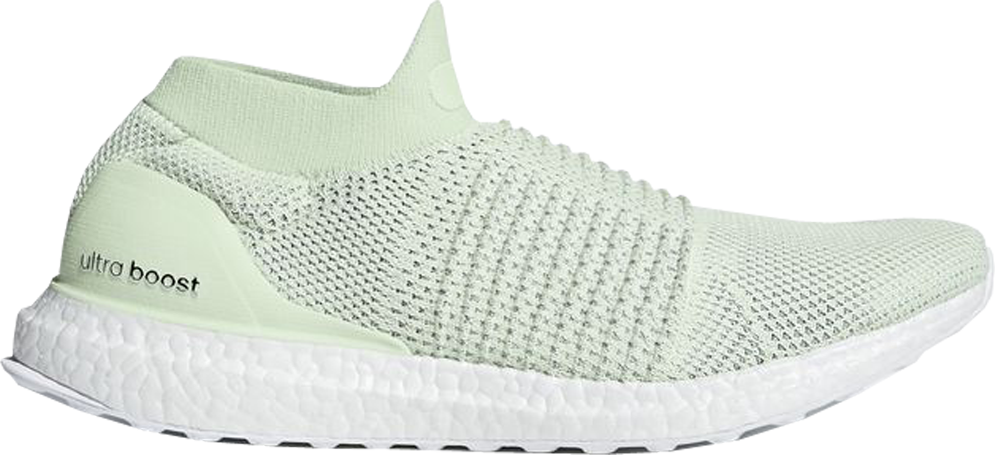 adidas Ultra Boost Laceless Mid Ash Green