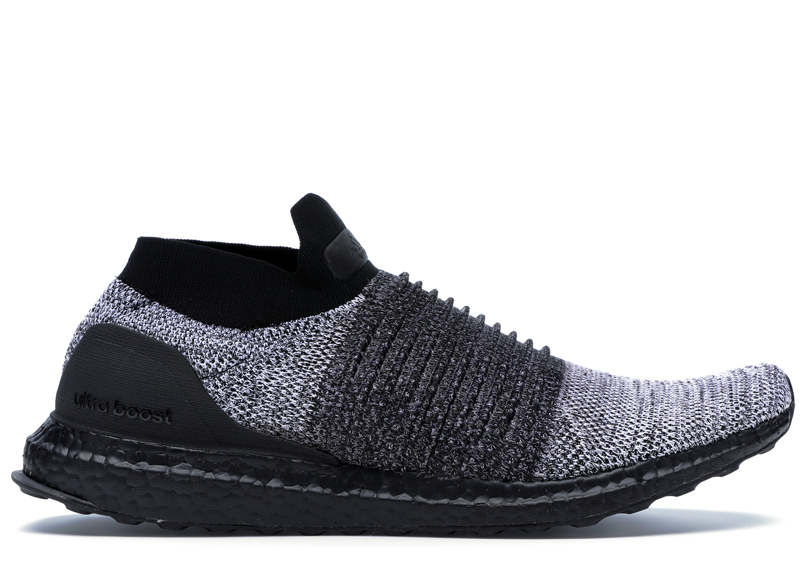 adidas Ultra Boost Laceless Mid Black Oreo