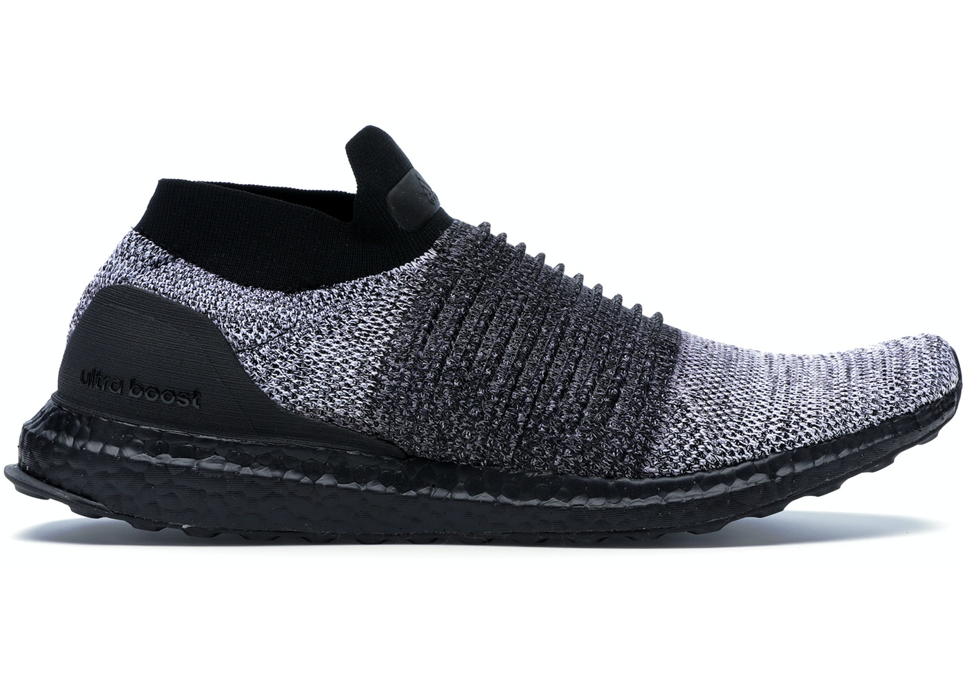 e0d3fe24b3d adidas Ultra Boost Laceless Mid Black Oreo - BB6137