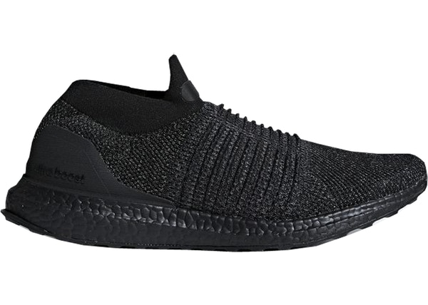 214990b077f adidas Ultra Boost Laceless Mid Triple Black - BB6222