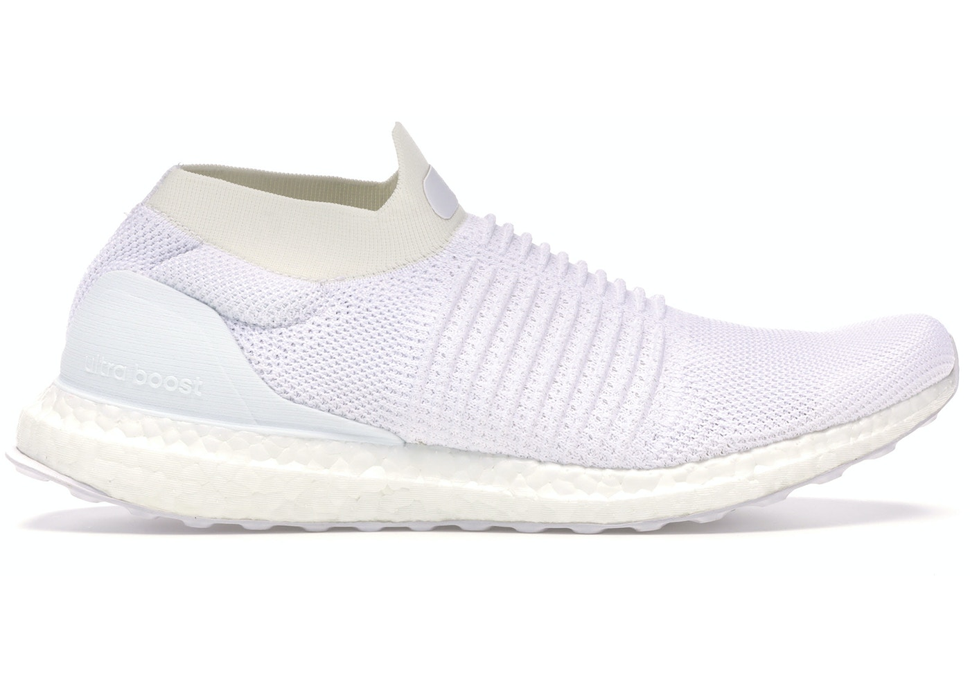 955d16ade61 adidas Ultra Boost Laceless Mid Triple White - S80768