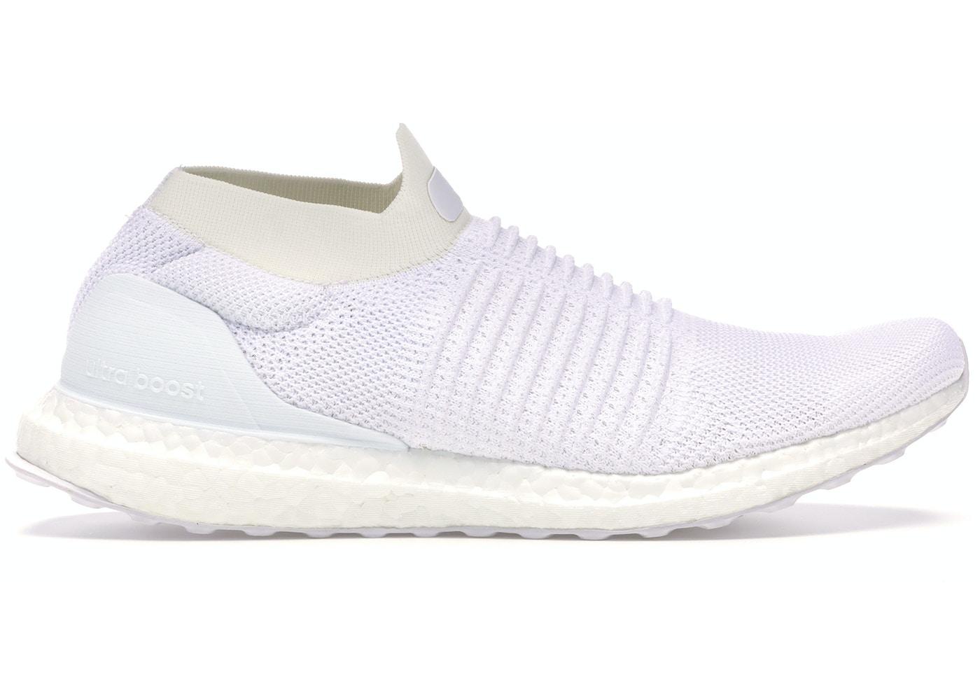 pretty nice 954bc 633b0 adidas Ultra Boost Laceless Mid Triple White