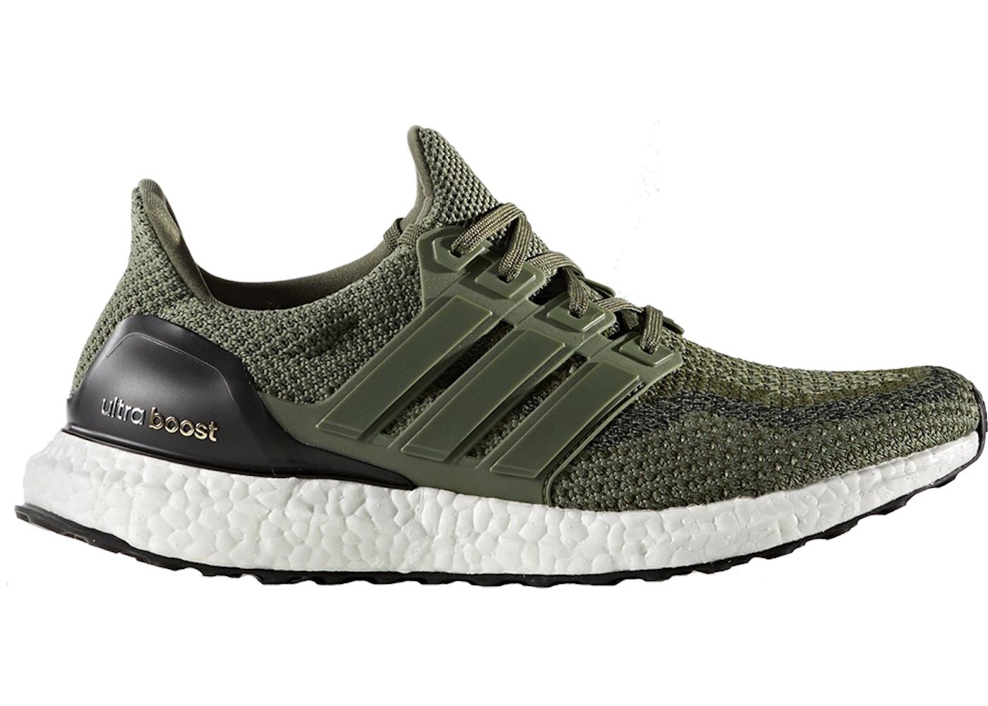Adidas Ultra Boost M 2.0 Olive Merino Wool Size 10
