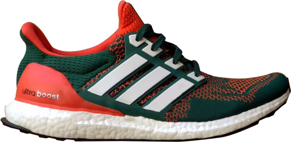 adidas Ultra Boost 1.0 Miami Hurricanes