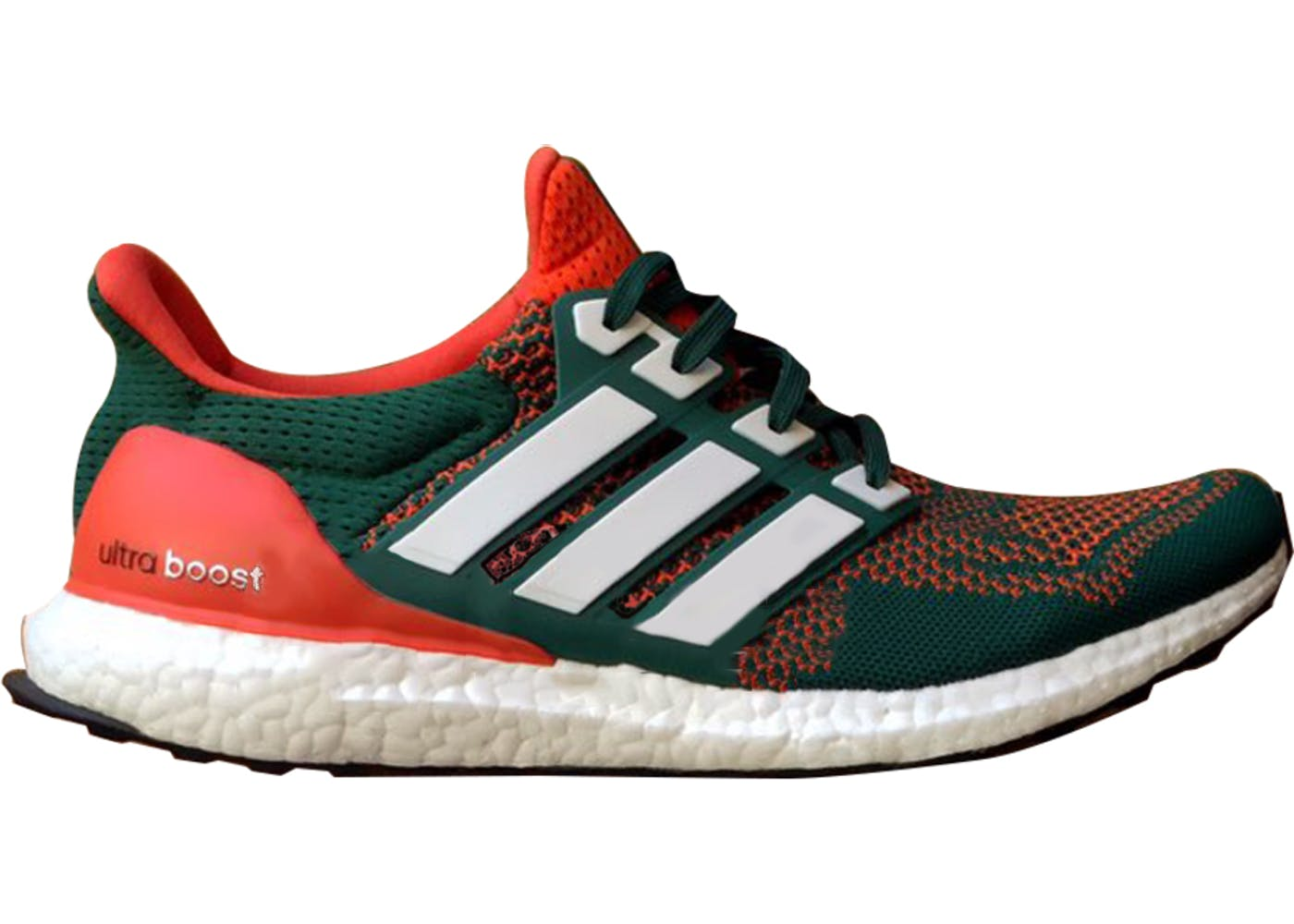 adidas ultra boost 1 0 miami hurricanes. Black Bedroom Furniture Sets. Home Design Ideas