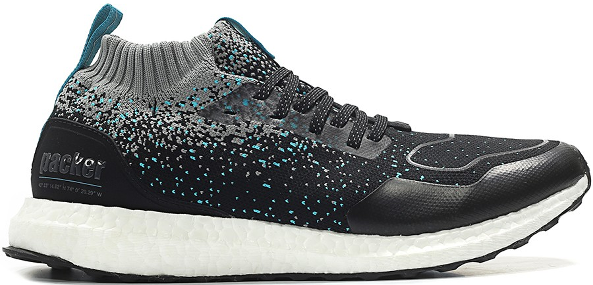 adidas Ultra Boost Mid Packer Shoes x Solebox Silfra Rift
