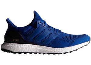 Adidas Running Shoe Ultra Boost 3.0 Core Blue / Core Black Kids