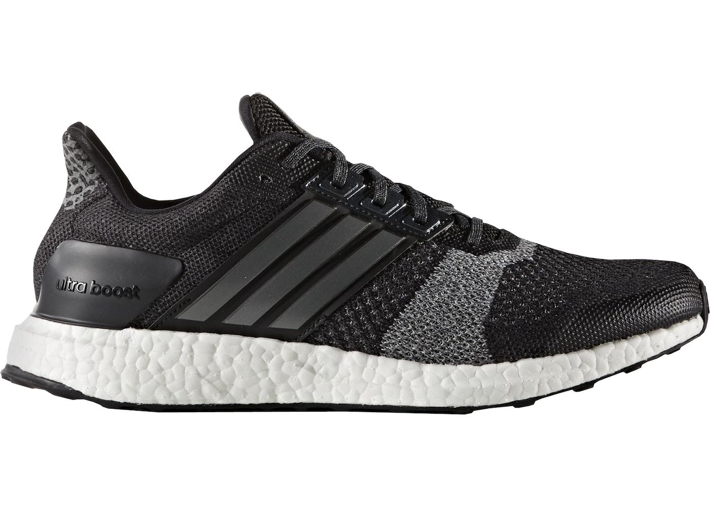 308e4d2b1bb adidas Ultra Boost ST Black Grey - BA7838