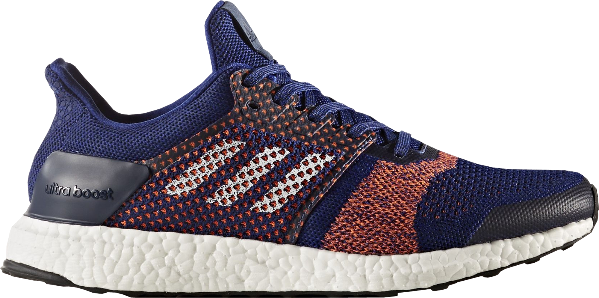 adidas Ultra Boost ST Blue Solar Orange