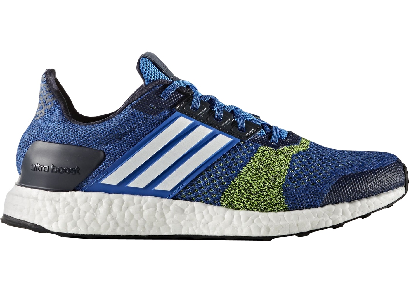 HypeAnalyzer · adidas Ultra Boost ST Blue Solar Yellow c9152c4d96