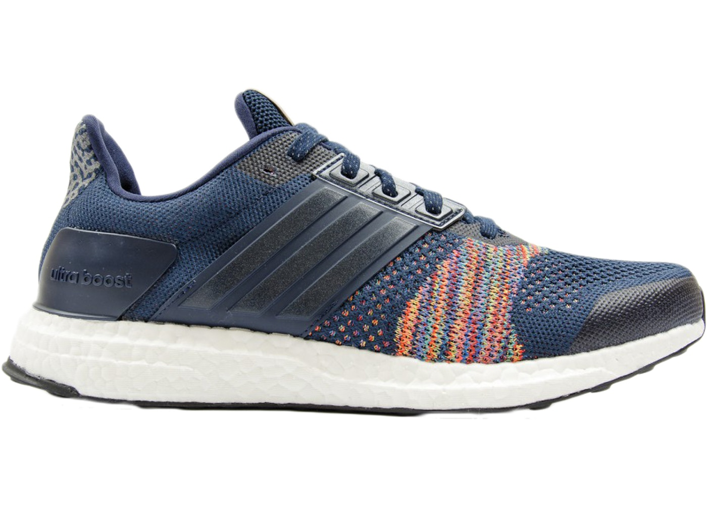 best sneakers 2d2e7 aa1af adidas Ultra Boost ST Navy Multi-Color