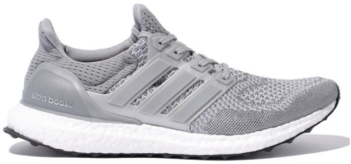 adidas Ultra Boost 1.0 Silver Metallic Grey