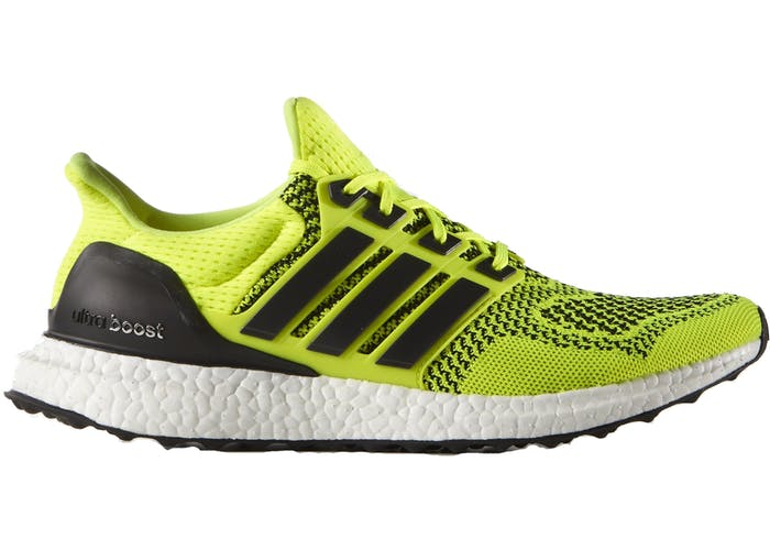 Adidas Ultra Boost Solar Yellow