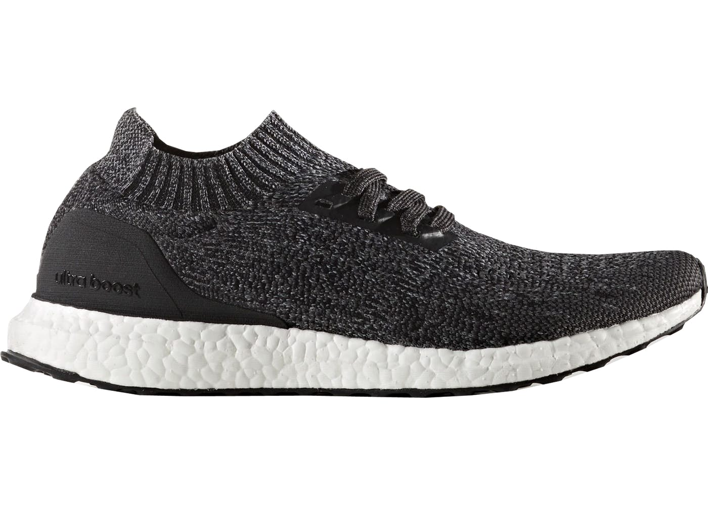 adidas ultra boost uncaged black grey three. Black Bedroom Furniture Sets. Home Design Ideas
