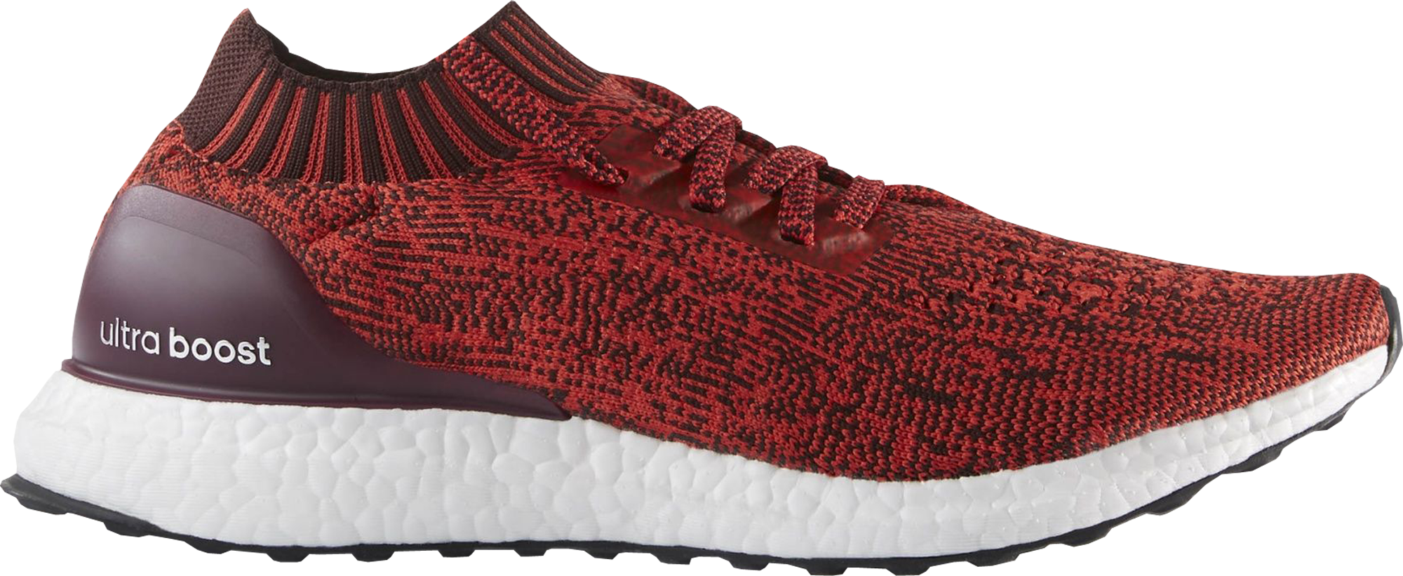 3e7dac7f7 ... clearance adidas ultra boost uncaged tactile red dark burgundy daab7  7f47f