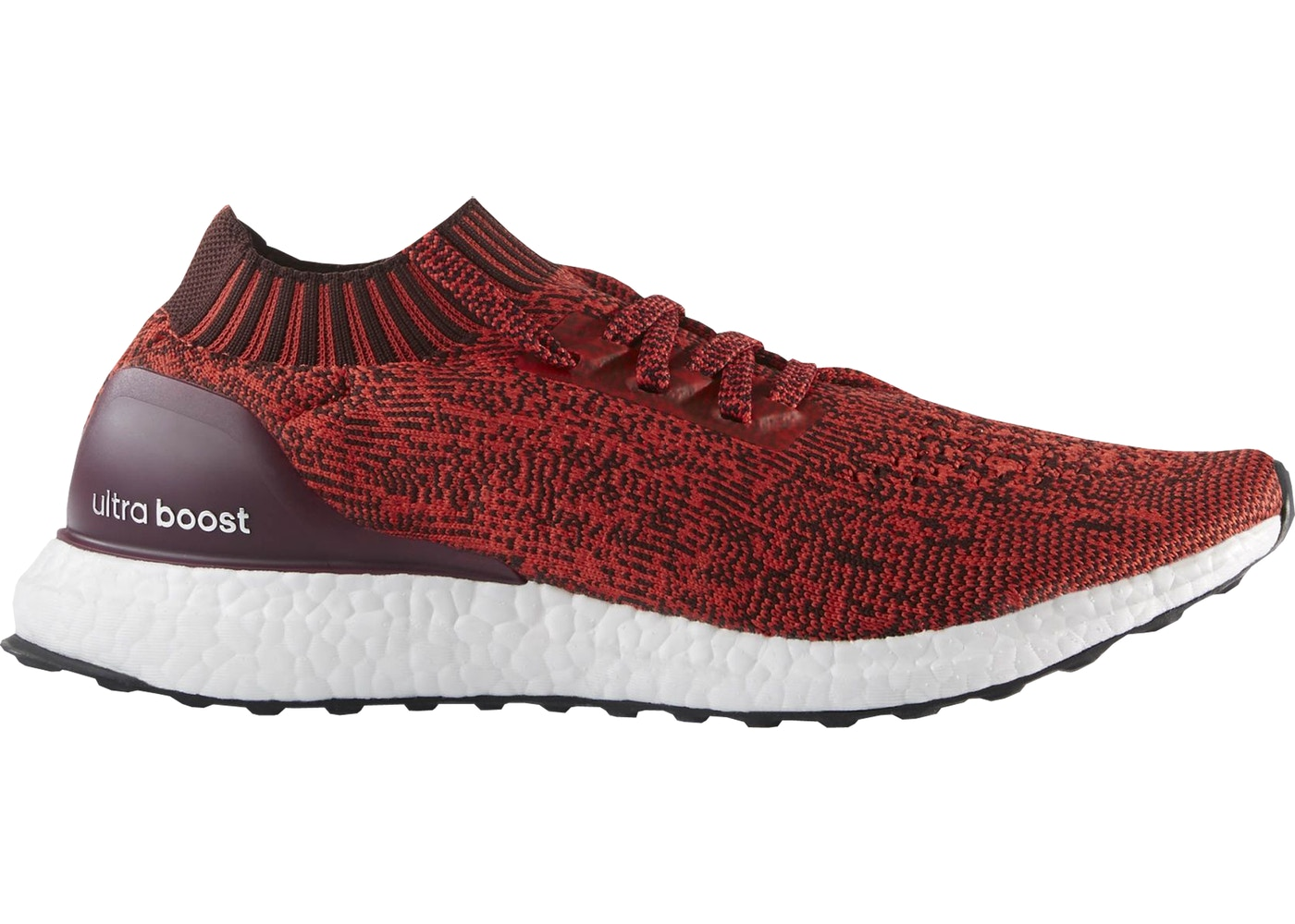 107af80e252 adidas Ultra Boost Uncaged Tactile Red Dark Burgundy