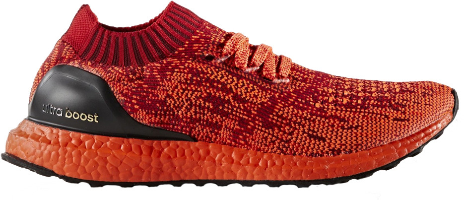 Adidas Men Ultraboost Uncaged (red scarlet solar red black)