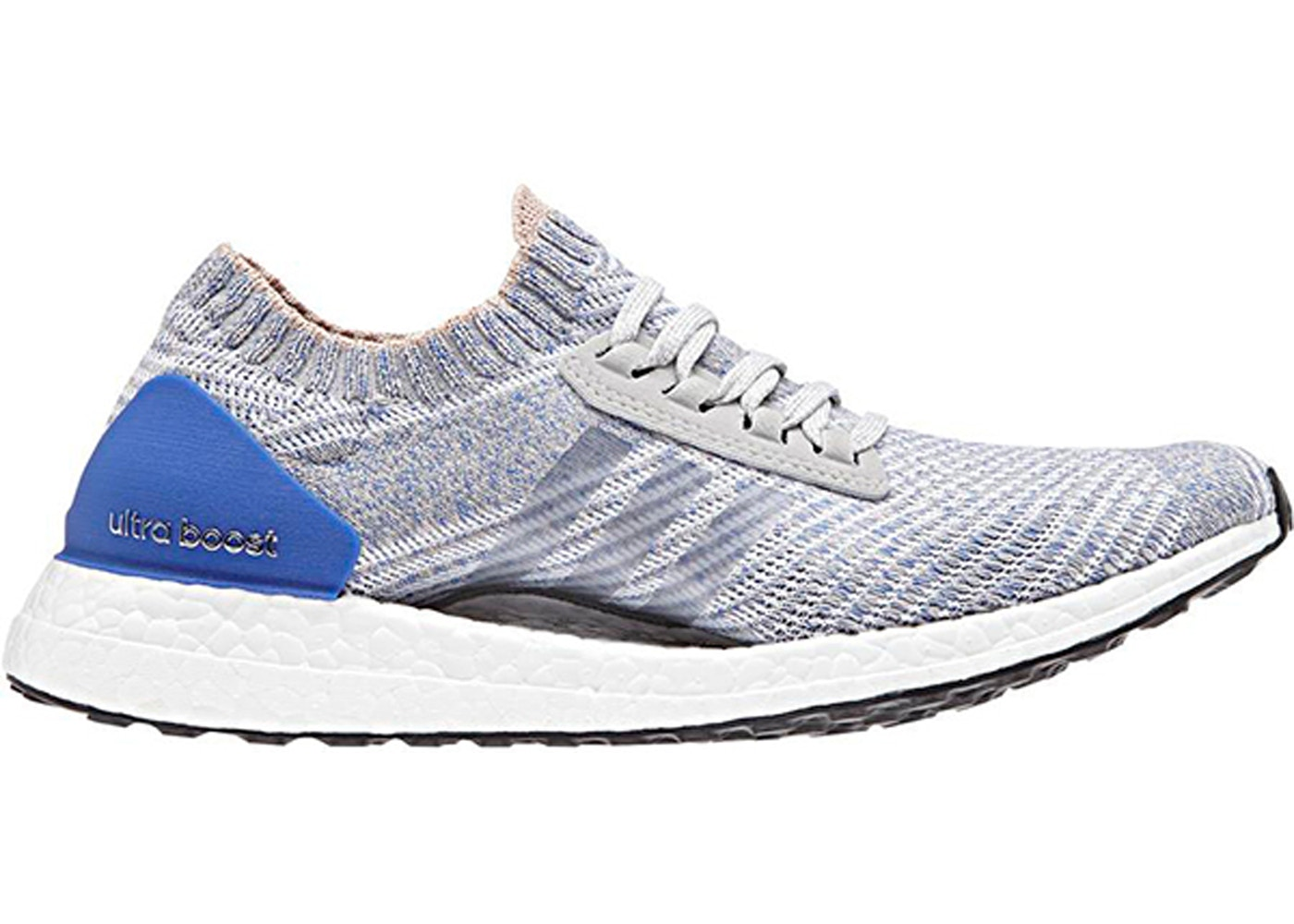 167820f7e HypeAnalyzer · adidas Ultra Boost X Grey Two Hi Res Blue (W)