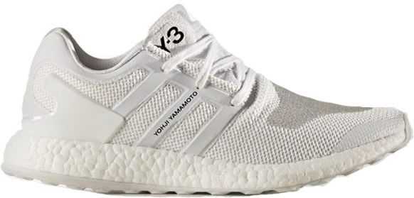 Y-3 Pureboost Triple White