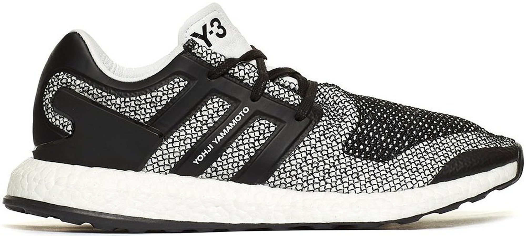 adidas Y-3 Pure Boost White Black