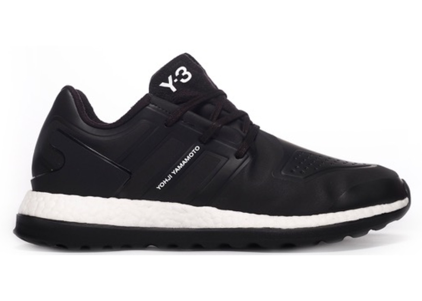 8bb6fed8c Y-3 Pureboost ZG Core Black - BB5396