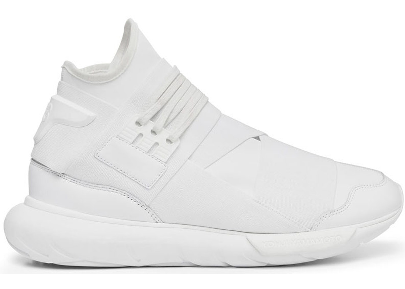 new product b1fa6 16d9f Y-3 Qasa High Triple White - AQ5500