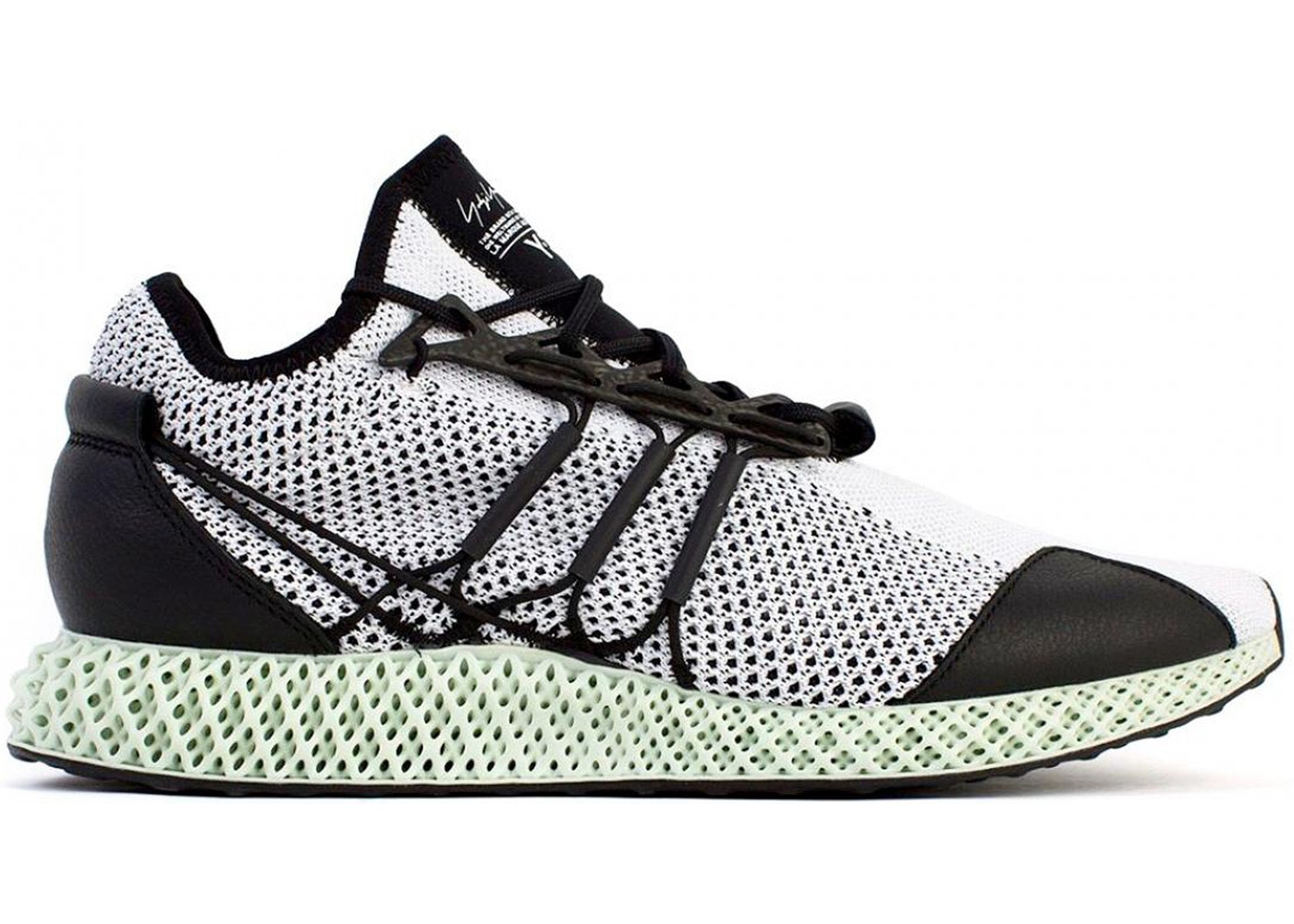 368610300e60c adidas Y-3 Runner 4D Black White