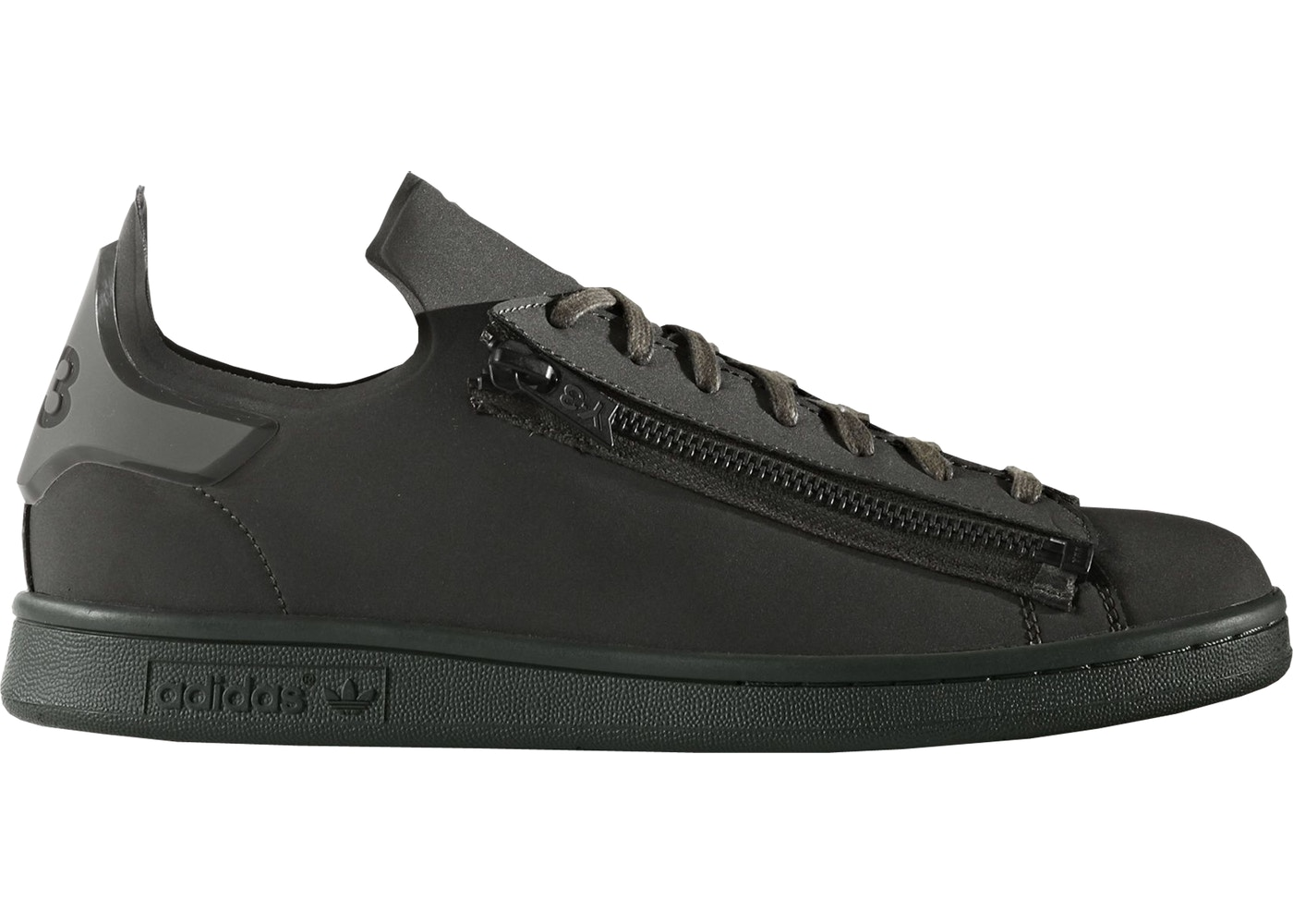 3798cb65d40 adidas Y-3 Stan Smith Zip Dark Olive - CG3208